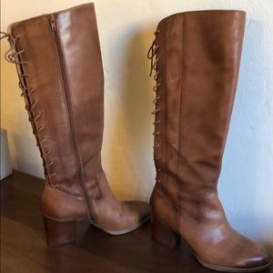 "Sofft ""Wheaton"" knee high leather boot 👢 sz 9"